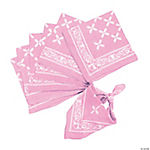 Light Pink Bandanas