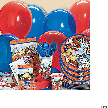 Birthday Puppy Basic Party Pack