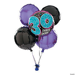 Look Who's 30 Birthday Balloon Set