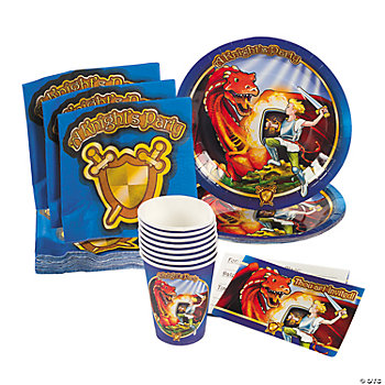 Knight & Dragon Tableware & Invitations