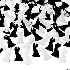 Bride/Groom-Shaped Confetti