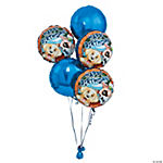 8 Piece Puppy Birthday Balloon Set