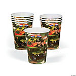 Camouflage Army Cups