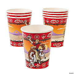 Cowboy Party Cups