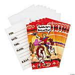Cowboy Party Invitations