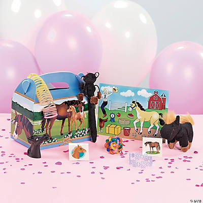 Mare & Foal Filled Treat Box