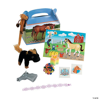 Mare & Foal Filled Treat Boxes