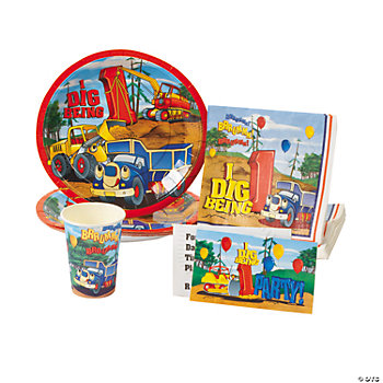 """I Dig Being 1"" Tableware & Invitations"