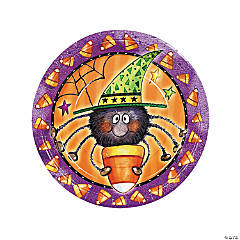 Candy Corn Spider Plates