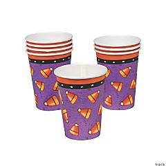 Candy Corn Spider Cups