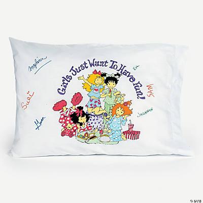 Slumber Party Autograph Pillowcase