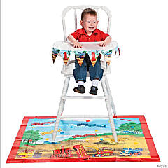 "2 Pc. ""I Dig Being 1"" High Chair Set"