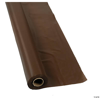 Chocolate Brown Tablecloth Roll