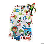 Christmas Design Filled Treat Bag