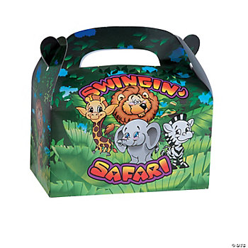 """Swingin' Safari"" Filled Treat Box"