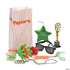 Movie Night Filled Treat Bags