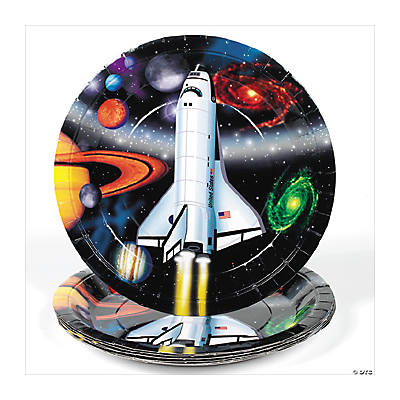 Outer Space Dinner Plates