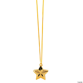 Goldtone Star-Shaped Balloon Weights