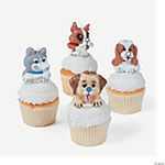 12 Birthday Puppy Cake Topper Candles