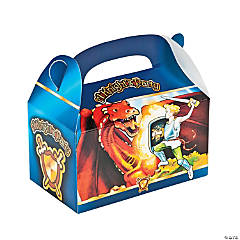 Knight's Party Treat Boxes