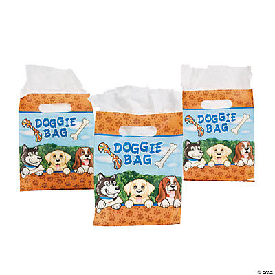 Birthday Puppy Treat Bags