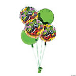 8 Piece Ladybug Birthday Balloon Set