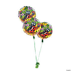 Ladybug Birthday Mylar Balloon Set