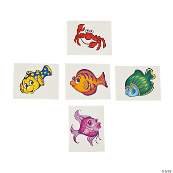 Tropical Fish Tattoos