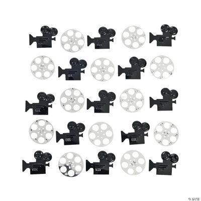 Camera And Film Confetti