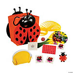 Ladybug-Shaped Filled Treat Bags
