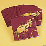 Fall Leaves Luncheon Napkins
