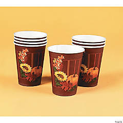 Fall Leaves Cups