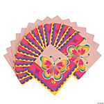 Butterfly Party Beverage Napkins