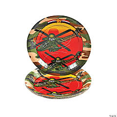 Camouflage Army Dessert Plates