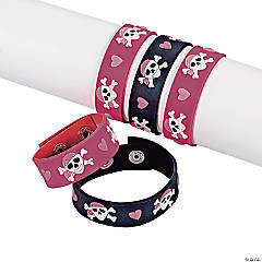 Pink Pirate Girl Bracelets