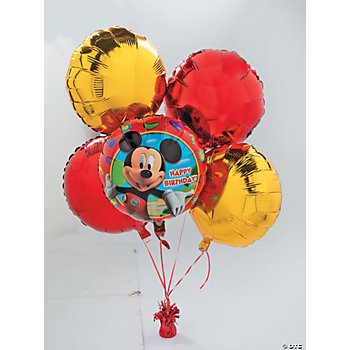 8 Piece Mickey's Clubhouse Birthday Balloon Set