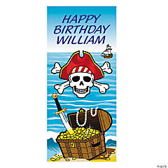 Personalized Pirate Party Door Cover