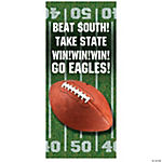 Football Party Personalized Door Cover