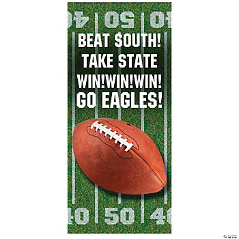Personalized Football Party Door Cover