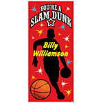 Personalized Basketball Party Door Cover