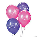 "25 Lavender & Pink ""Princess"" Latex Balloons"