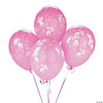 25 Pink Cowgirl Latex Balloons