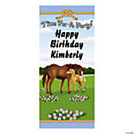 Personalized Mare & Foal Door Cover