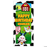 Personalized Farm Party Door Cover