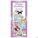 Personalized Slumber Party Door Cover