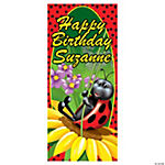 Personalized Ladybug Door Cover