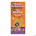 Personalized Candy Corn Spider Door Cover