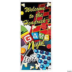 Personalized Game Night Door Cover