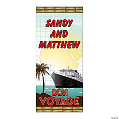 Personalized Bon Voyage Door Cover