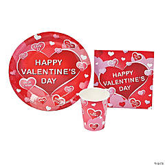 Valentine Hearts Tableware